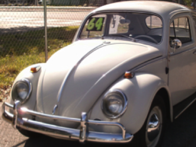 1964 VW Beetle White