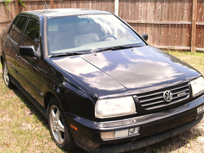 1998 VW Jetta Black