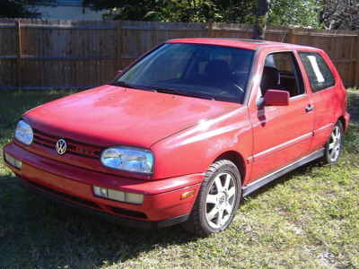 1999 VW Golf Red