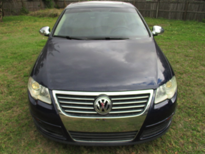 2006 Passat Blue Front View
